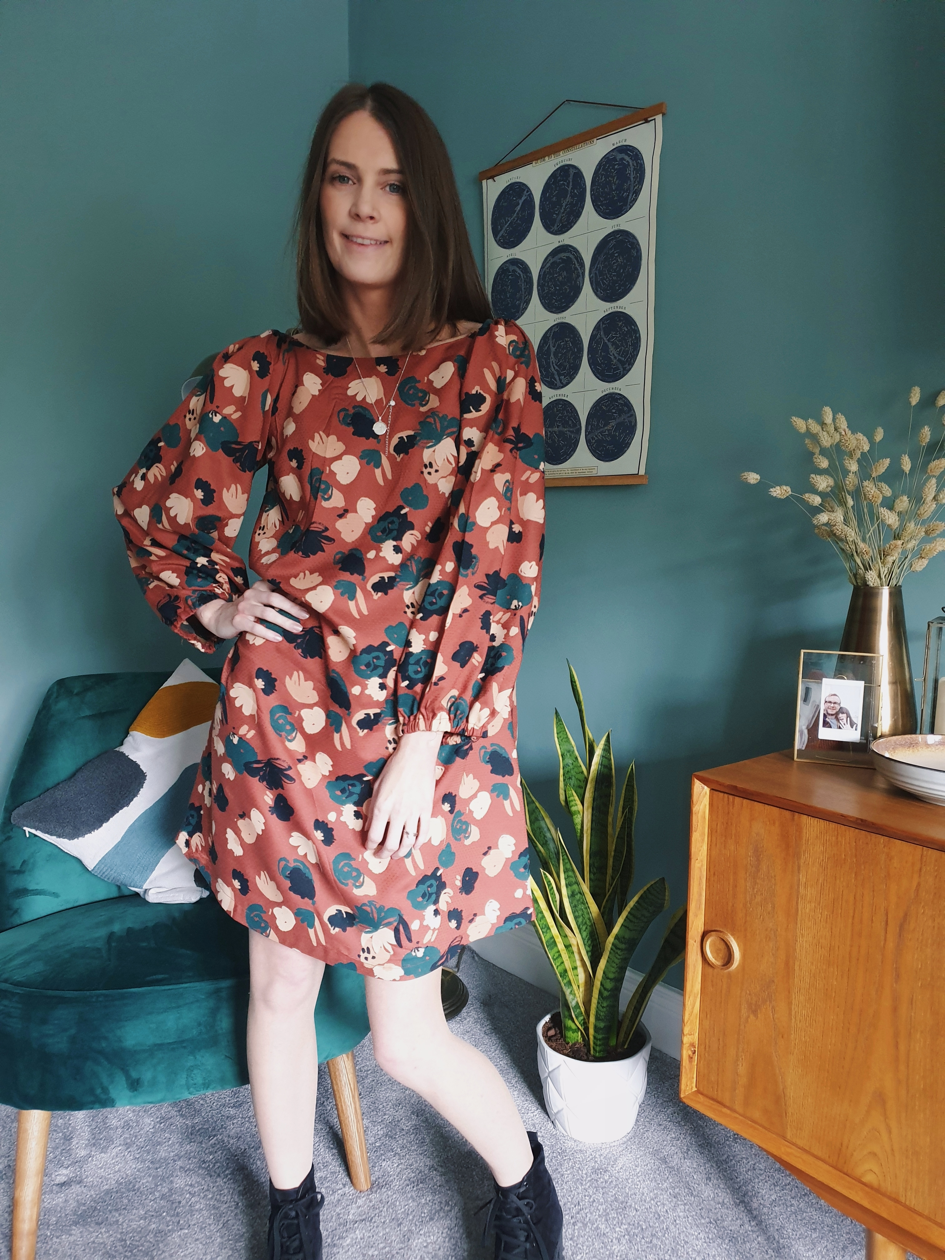 What Becs Sews – The Adrianna Dress